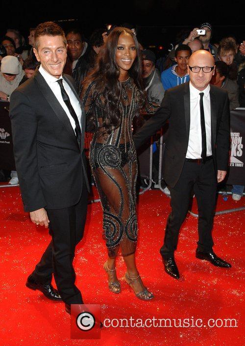 Naomi Campbell, Domenico Dolce and Stefano Gabbana