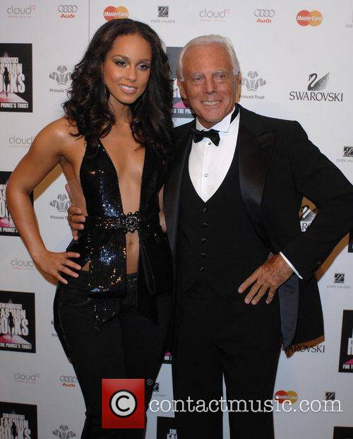 Alicia Keys and Giorgio Armani 3