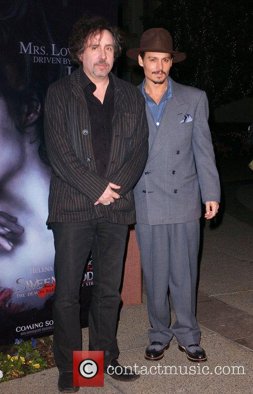Tim Burton and Paramount Pictures 5