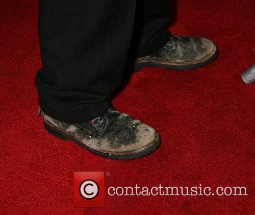 Johnny Depp muddy shoes World Premiere of 'Sweeney...