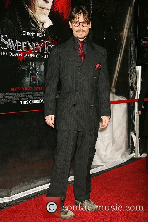 Johnny Depp World Premiere of 'Sweeney Todd: The...