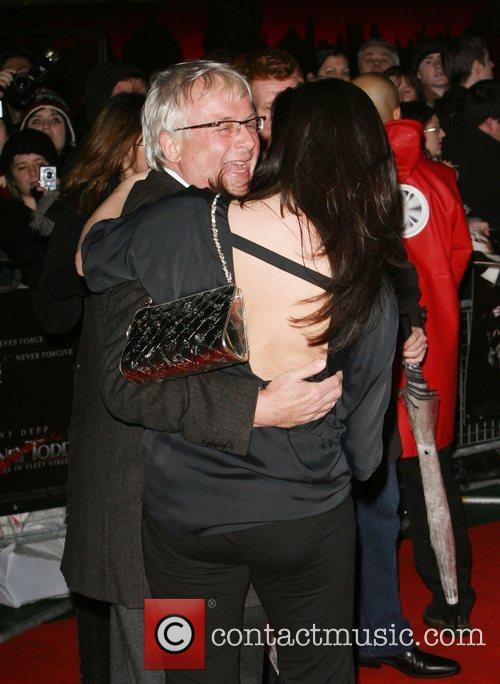 Christopher Biggins, Amanda Lamb UK premiere of 'Sweeney...