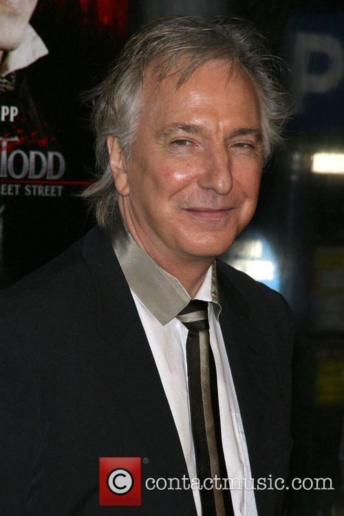 Alan Rickman World Premiere of 'Sweeney Todd: The...
