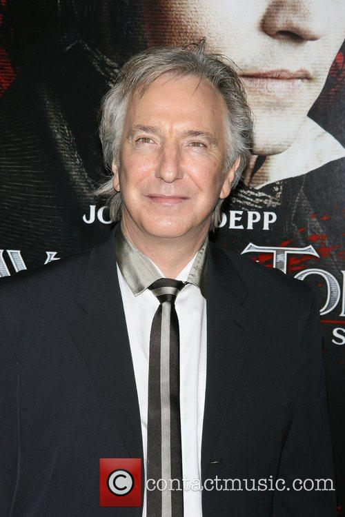 alan rickman wife. pictures alan rickman.