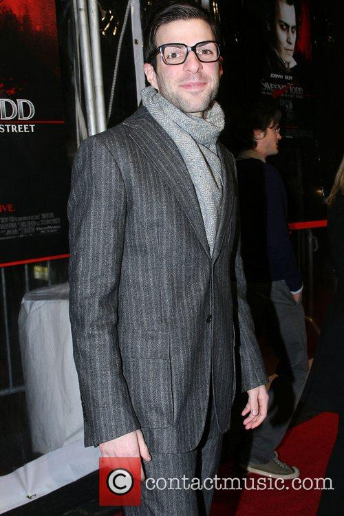Zachary Quinto World Premiere of 'Sweeney Todd: The...