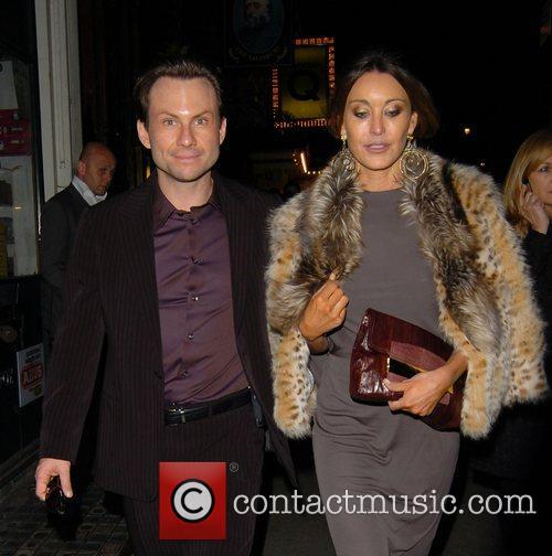 Christian Slater and Tamara Mellon 2