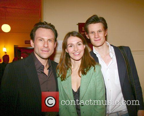 Christian Slater, Helena Baxendale and Guest Swimming With...