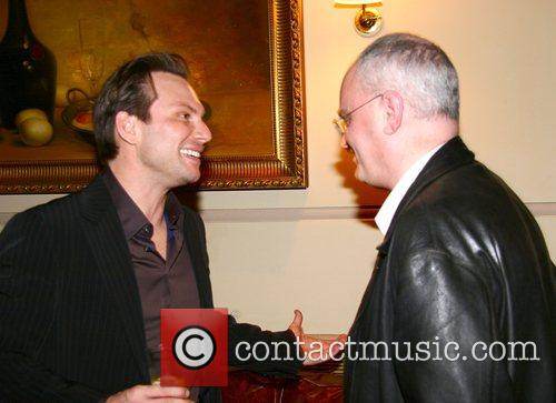 Christian Slater and Terry Johnson