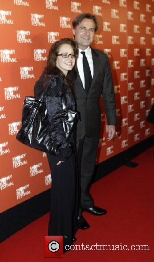 Simon Reynolds and partner Sydney Film Festival 2007...