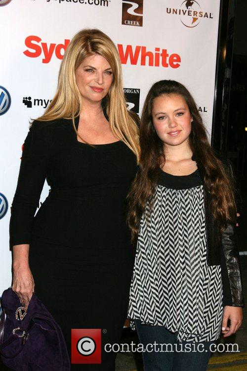 Kirstie Alley and Lillie Parker