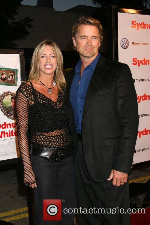 John Schneider and wife