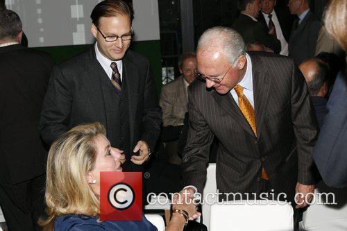 Catherine Deneuve and Franz Beckenbauer