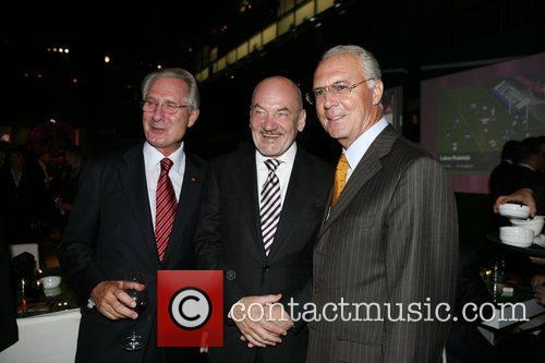 Klaus Zumwinkel, guest, Franz Beckenbauer T-Com