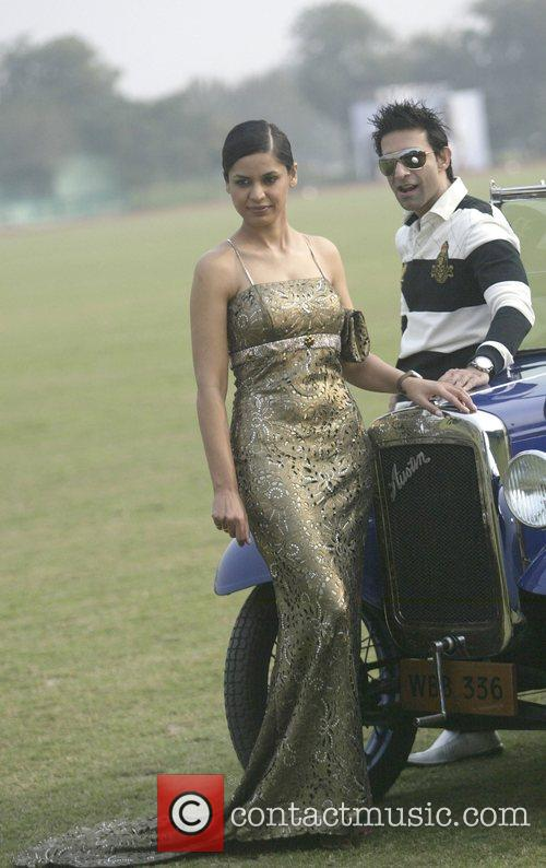 Indian Fashion Designers Aparna Chandra (in Suneet Varma's Design Outfit) 5