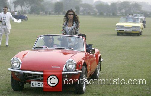 Kamal Sidhu In A Vintage Car 3