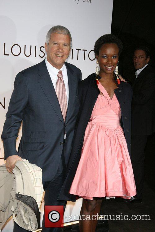 Larry Gagosian, Guests Brooklyn Museum & Louis Vuitton...