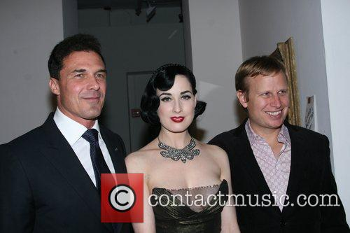 Andre Balazs, Dita Von Teese and guest New...