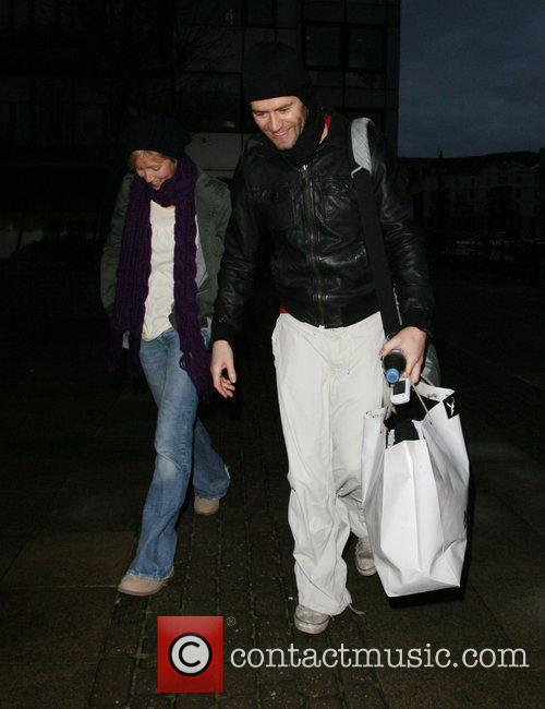 Howard Donald of boy band Take That leaving...