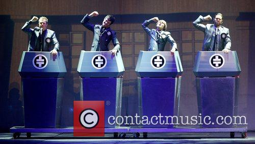 Take That performing in concert at the Metro...