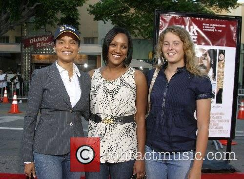 Victoria Rowell, neice Ebony and daughter Maya Fahey...