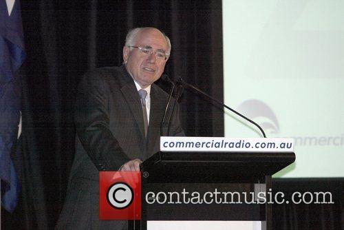 Australian Prime Minister John Howard at the luncheon...