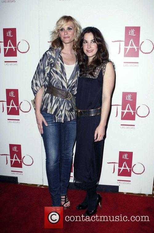 Bonnie Somerville and Lindsey Sloane at TAO...