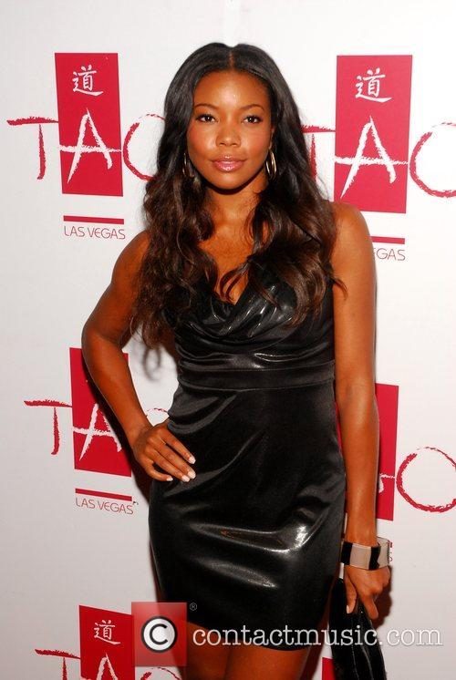Gabrielle Union at Tao inside Venetian Hotel Las...