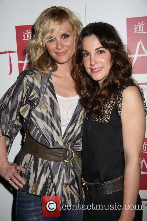 Bonnie Somerville and Lindsey Sloane at TAO in...
