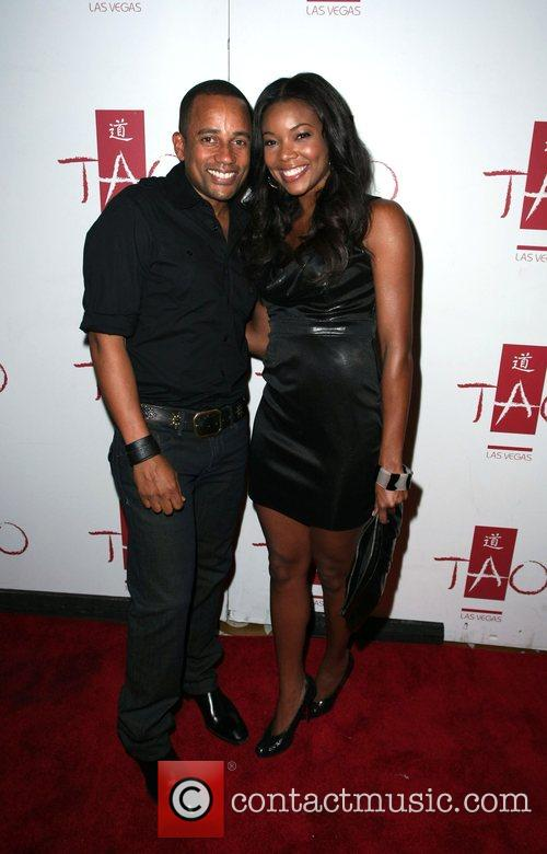 Hill Harper and Gabrielle Union Gabrielle Union hosts...