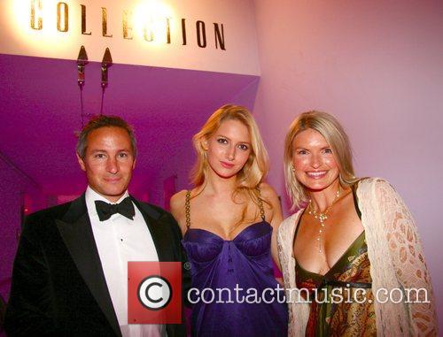 Jeremy Goring, Chloe Cunningham and Carla Goring,...
