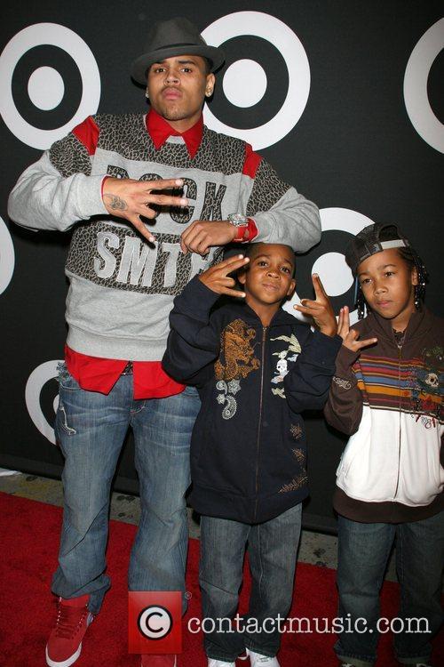Chris Brown and Guests  Target celebrates Chris...