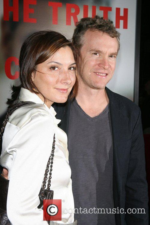 Corinne Kingsbury and Tate Donovan