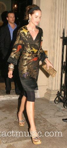 Trinny Goodall Tatler Summer Party - Departures London,...