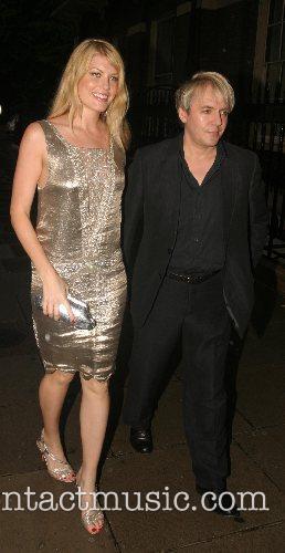 Meredith Ostrom and Nick Rhodes  Tatler Summer...