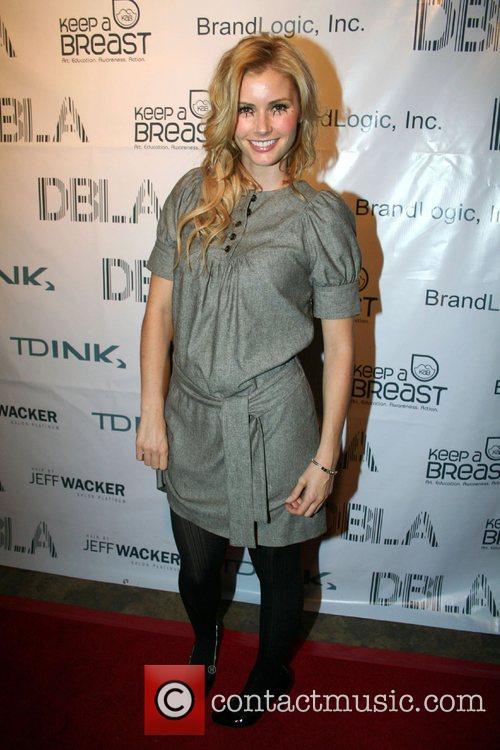 Brianna Brown Tdink Magazine's 2nd Annual Fashion Walk-Off...