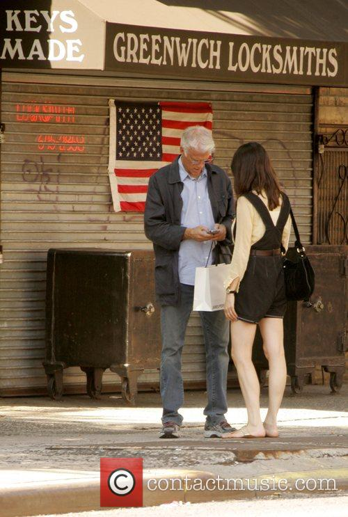 Ted Danson with daughter Kate Danson walking in SoHo | Ted Danson
