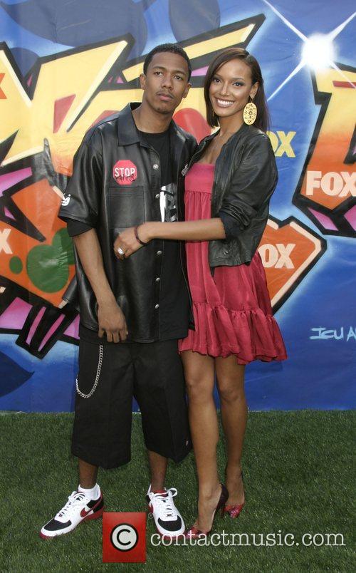 Nick Cannon and Selita Ebanks 2