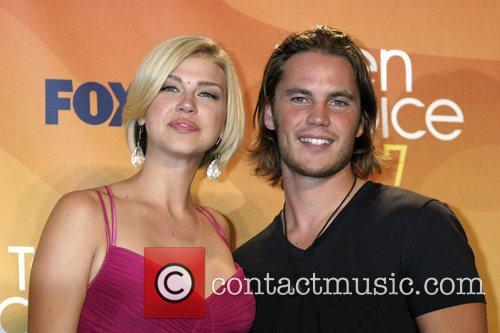 Adrianne Palicki and Taylor Kitsch Teen Choice 2007...