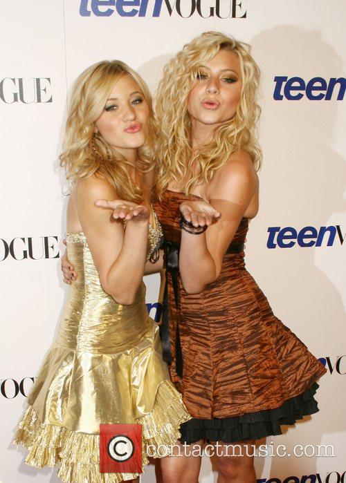 Amanda Michalka aka A.J. Michalka and Alyson Michalka...