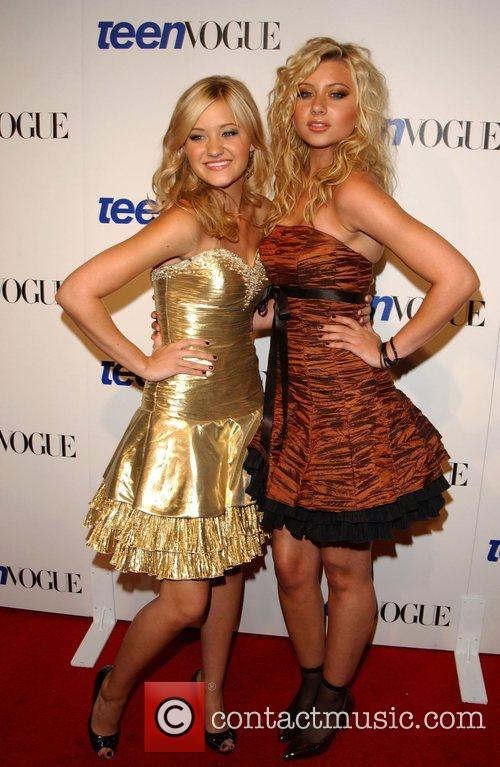 AJ Michalka and Aly Michalka Teen Vogue Young...