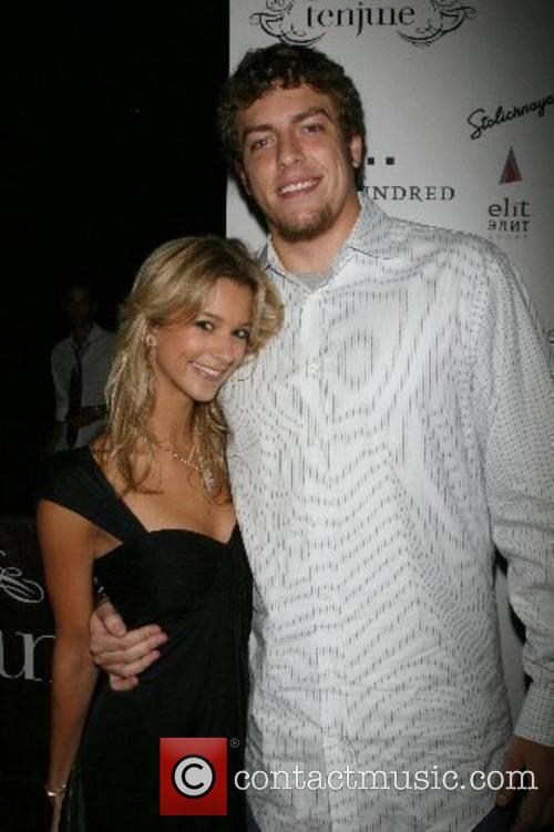 David Lee of the New York Knicks and...