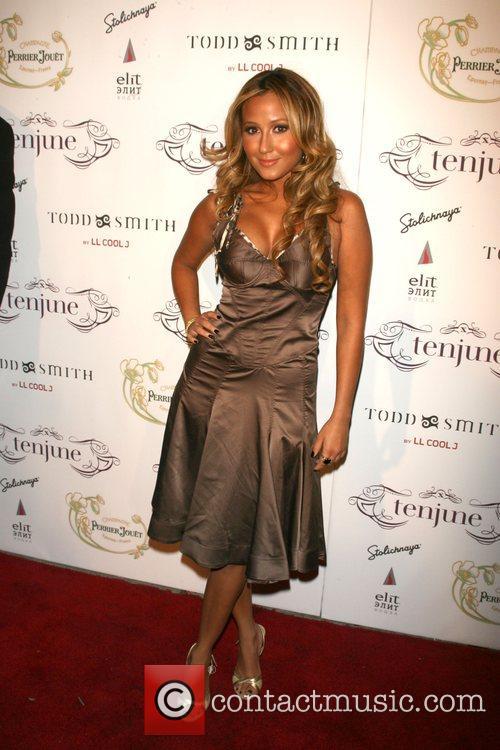 Adrienne Bailon Tenjune nightclub celebrates its one year...
