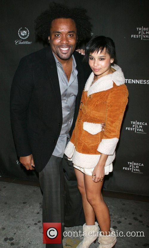 Lee Daniels and Zoe Kravitz 2