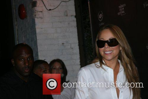 Mariah Carey, Eminem, Las Vegas, Nick Cannon, Selita Ebanks and Tommy Mottola 2