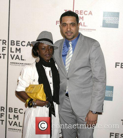 Nassar Metcalfe and Guest 7th Annual Tribeca Film...