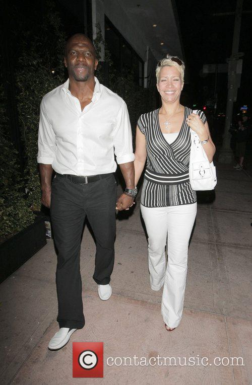 Terry Crews and His Wife Rebecca Crews 4