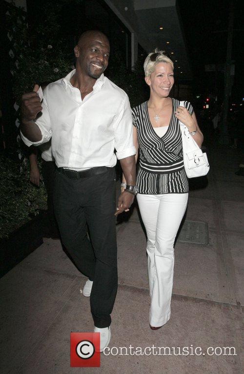 Terry Crews and His Wife Rebecca Crews 1