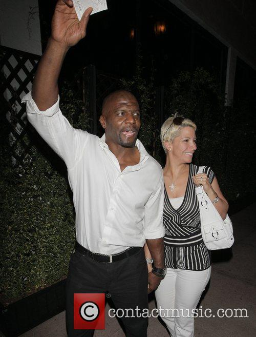 Terry Crews and His Wife Rebecca Crews 2