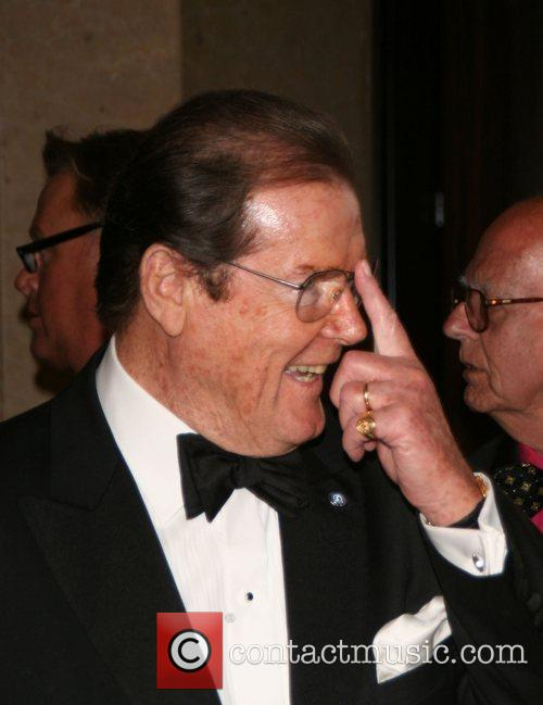 Sir Roger Moore Thalians 52nd Anniversary Gala held...