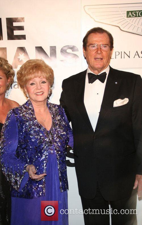 Debbie Reynolds, Sir Roger Moore Thalians 52nd Anniversary...